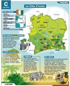 Fiche exposés : La Côte d'Ivoire