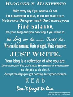 Great tips for writer's block. #Blogging