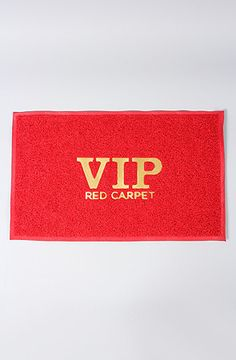 present time The VIP Red Carpet Doortmat : Karmaloop.com - Global Concrete Culture