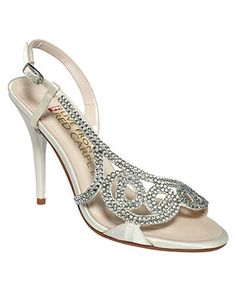 E! Live From the Red Carpet Shoes, E0014 Evening Sandals - Evening & Bridal - Shoes - Macy's (comes in silver or gold too)