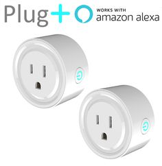 Plug+ The WiFi Enabled Alexa Compatible Smart Outlet - No Hub Required (2 Pack) | Consumer Electronics, Home Automation, Controls & Touchscreens | eBay!