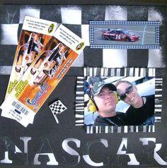 Vegas+Nascar - Scrapbook.com