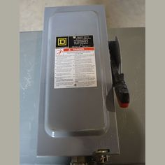 600 VAC NEMA 1 Enclosure Non-Fused Quantity 1  View More30 Amp Disconnects Used Equipment, Electrical Equipment, 30th, Amp