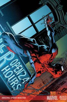 #Spiderman #Fan #Art. (AMAZING SPIDER-MAN#592 Cover) By: JOE QUESADA. (THE * 5 * STÅR * ÅWARD * OF: * AW YEAH, IT'S MAJOR ÅWESOMENESS!!!™) ÅÅÅ+