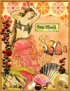 Treasures of the Deep by Nostalgic Collage, via Flickr