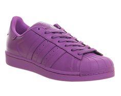 Adidas Superstar 1 Pharrel Supercolour Ray Purple - His trainers