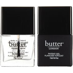 Butter London Patent-Gel-Top & Tails (150 SAR) ❤ liked on Polyvore featuring beauty products, nail care, nail polish, fillers, beauty, makeup, nails, backgrounds, butter london nail lacquer and butter london