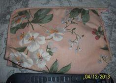 Merle Norman Peach Floral Cosmetic Bag | eBay