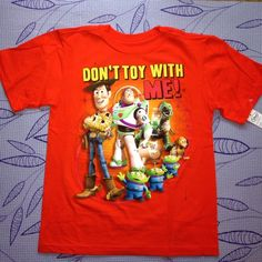 Check this item I am selling on Totspot, the resale shopping app for families.   Disney Toy Story Tee Disney  Love this! #kidsfashion #familyfashion