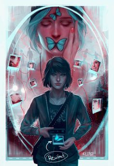 holepsi: Something to celebrate Life Is Sufferings 1 year... Tags: #other_peoples_art life is strange