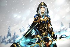 Ashe Redesign by Hannah515 on deviantART