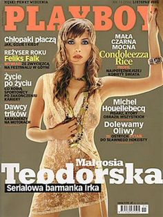 Playboy (Poland) November 2005 with Małgorzata Teodorska on the cover of the magazine