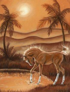 Bella Sara Sunbeam - print by cindypriceart Horse Drawings, Pretty Horses, Magical Creatures, Horse Art, Modern Artwork, Unicorns, Pin Up, Anime, Fantasy