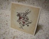 Alice In Wonderland Vintage Style Paperie for by FyreflyHollow