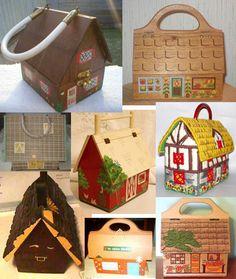 Box Purses - I had one like the top right corner purse