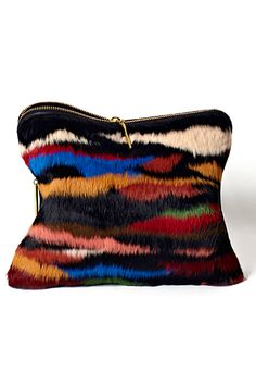 // Phillip Lim texture and color palette, reminds me of southwestern sand art Phillip Lim, My Bags, Purses And Bags, Clutch Purse, Coin Purse, Fur Purse, Mode Shoes, Hippy Chic, Mode Inspiration