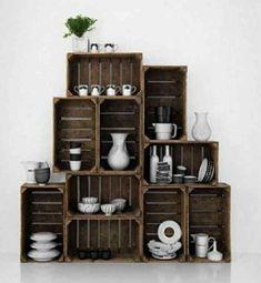 Reciclar cajas de madera - www.eltallerdeloantiguo.com