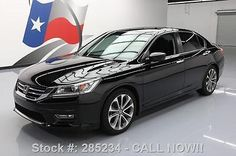 nice 2013 Honda Accord SPORT SEDAN CVT REAR CAM 18'S - For Sale View more at http://shipperscentral.com/wp/product/2013-honda-accord-sport-sedan-cvt-rear-cam-18s-for-sale/