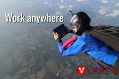 Be free to work where you want, when you want - www.vesca.co.za