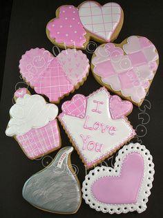 Valentines in Pink....