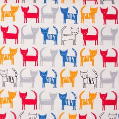 THIS LISTING IS FOR 1/2 YARD. You can increase the quantity on the listing for more yardage. For example: Qty 1 = 0.5 yards Qty 2 = 1 yard Qty 3 = 1.5 yards Qty 4 = 2 yards ---- Print: Stripey Cats Manufacturer: Hokkoh 44 inches wide 100% oxford cotton Unwashed Made in Japan
