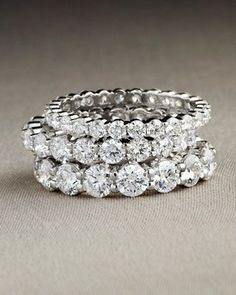 floating diamond half eternity band – Google Search