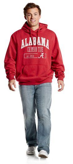 Wear your Alabama pride in style! #BurkesOutlet #youniquelyyou #CrimsonTide