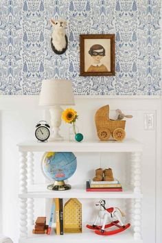 House Tour: A Home Crush a Year in the Making Emily Henderson House Tours Francois Et Moi 15 # Family Room, Home And Family, Kids Room Wallpaper, Guest Room Office, Kids Room Design, Kid Spaces, Simple House, Home Decor Inspiration, Design Inspiration