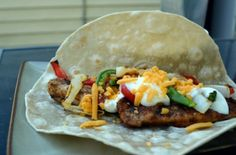 Chicken Fajitas - this website has tons of recipes for any occasion, with pictures!