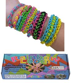 Rainbow Loom is a must have this Christmas! Click the image to get more fun gift ideas for kids.