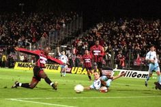 Serge Ayeli but vs Ajaccio @ Stade du Ray Nice