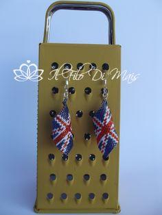orecchini bandiera inglese http://ilfilodimais.blogspot.it/2013/05/schema-bandiera-inglese.html