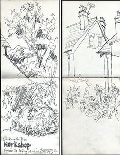 Quick on the Draw - a speed-sketching workshop, by Lynne Chapman