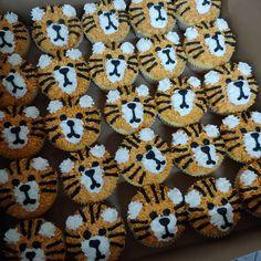 #tigers #cupcakes #cake #dlish Tigers, Cupcakes, Cookies, Desserts, Food, Biscuits, Meal, Cupcake, Deserts