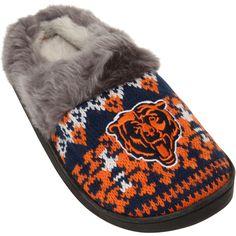 Women's Chicago Bears Aztec Slide Slippers