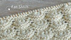Knitting Stiches, Knitting Videos, Lace Knitting, Crochet Stitches, Knit Crochet, Knitting Patterns, Cardigan Design, Knitted Slippers, Handicraft