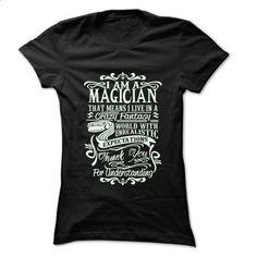 Job Title Magician ... 99 Cool Job Shirt ! - #sweaters #t shirt ideas. ORDER HERE => https://www.sunfrog.com/LifeStyle/Job-Title-Magician-99-Cool-Job-Shirt-.html?60505