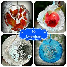 Ice Decorations for Your Garden