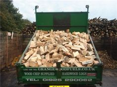 2 Cubic Metre bags of Seasoned Larch Logs - keep your wood burner going until spring decides to show its face! Delivered to your door at great prices.