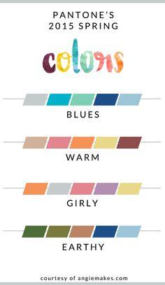 2015 Spring Colors | angiemakes.com