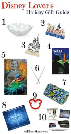 A Disney Lover's Holiday Gift Guide - Disney Mamas