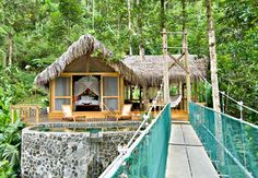 The Pacuare Jungle Lodge, Costa Rica -- 5 Dream Tree House Honeymoons