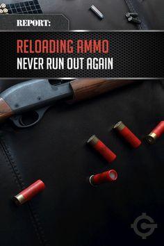 Reloading Ammo | Cool DIY Bullet Ideas by Gun Carrier at http://guncarrier.com/ammo-reloading-gun-supplies