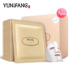 face care YUNIFANG GINSENG FAICAL MASK mineral silk anti-wrinkle anti-aging hydrating moisturizing 30ml*7pcs