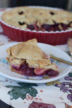 Apple & Grape Pie