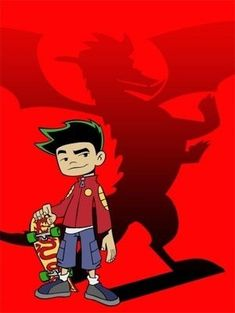 American Dragon: Jake Long Am I the only one that remembers this show? Old Disney, Disney Xd, Disney Movies, Cartoon Tv Shows, Cartoon Characters, Jake Long, American Dragon, Old Shows, Childhood
