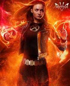 Sophie Turner is Jean Grey/Dark Phoenix X Men, Jean Grey Phoenix, Dark Phoenix, Phoenix Force, Marvel Women, Marvel Girls, Comic Book Characters, Marvel Characters, Jean Grey Xmen