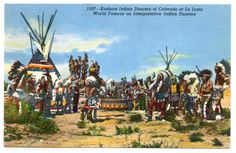 Native American Indian  Koshare Dancers of Colorado