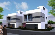 Ideas de Casas de Exterior, estilo Contemporaneo diseñado por NUÑO ARQUITECTOS…
