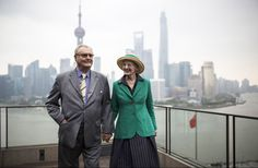 Prince Consort Prince Henrik and Queen Margrethe of Denmark official visit to China 4/28/2014
